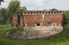 Daugavpils (Latvia) fortress. The nineteenth century. fortress in Daugavpils Royalty Free Stock Photo