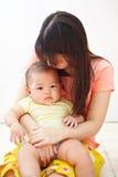 Daugher мамы и младенца Стоковые Фотографии RF