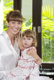 With daughter Royalty Free Stock Images