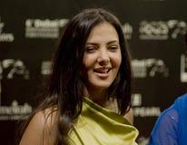 Daughter of Egyptian comedian Samir Ghanim Stock Images