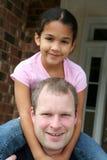 daughter father Στοκ Φωτογραφία