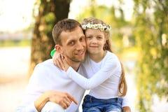 daughter father Стоковые Фотографии RF