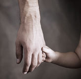 Daughter and  father Royalty Free Stock Photos