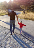 Daughter and Father Stock Photography