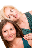 Daughter and her mother Stock Photography