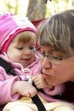 daughter mother Στοκ Φωτογραφίες