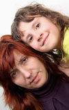 Daughter and mother Royalty Free Stock Images