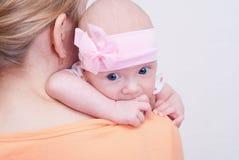 Daughter & mother Stock Photos