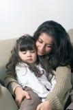 daughter mother Στοκ Φωτογραφία
