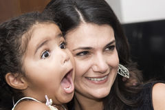 daughter mother στοκ φωτογραφία με δικαίωμα ελεύθερης χρήσης