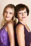 daughter mother Στοκ εικόνες με δικαίωμα ελεύθερης χρήσης