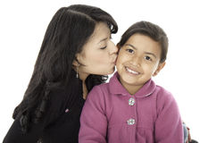 They are daughter and mother Stock Images