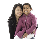 They are daughter and mother Royalty Free Stock Photography