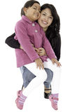 They are daughter and mother Stock Photography