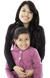 They are daughter and mother Stock Photos