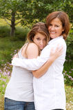 Daughter Mother Love Stock Images