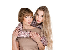 Daughter and mother Royalty Free Stock Photos