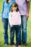 Daughter with parents Stock Photos