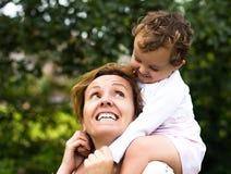 Daugther de mère et de bébé Photo libre de droits