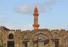 Daulatabad fort, Aurangabad, India Royalty Free Stock Photo