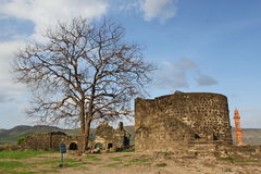 Daulatabad fort, Aurangabad, Indien Royaltyfria Foton