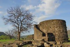 Daulatabad fort, Aurangabad, Indien Royaltyfri Fotografi
