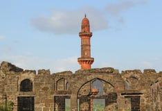 Daulatabad fort, Aurangabad, Indien Royaltyfri Foto