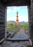 Daulatabad fort entrance view, Aurangabad, India Royalty Free Stock Photos