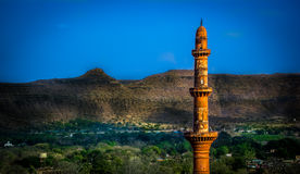 Daulatabad fort chand minar Royalty Free Stock Image