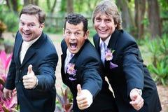 Daumen der homosexuellen Ehe oben stockbilder