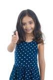 Daumen herauf Mädchen Lizenzfreie Stockfotos