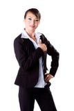 Daumen oben für einen Job durchgebraten Lizenzfreies Stockbild