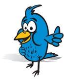 Daumen up Vogel Lizenzfreie Stockbilder