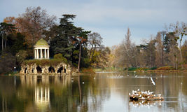 Daumesnil lake Royalty Free Stock Image