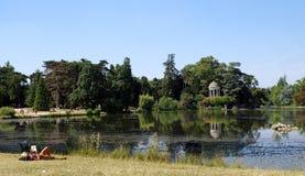 Daumesnil lake  in Paris Stock Photography