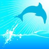 dauphin illustration de vecteur