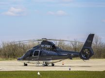 Dauphin helicopter stock images