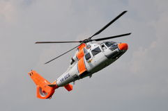 Dauphine AS-365 d'Eurocopter (Aérospatiale) Images stock