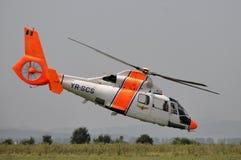 Dauphine AS-365 d'Eurocopter (Aérospatiale) Photographie stock