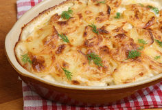 Dauphinois Potatoes Stock Photography