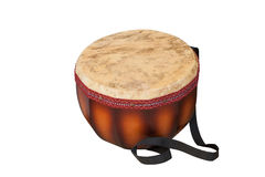 Dauylpaz Kazakh folk percussion musical instrument. Isolated on white background Stock Photos