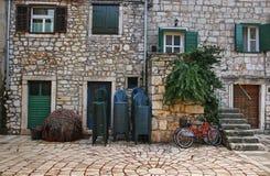Davanti alla Camera Mediterranea tipica Fotografie Stock