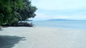 Davao,Philippines. Beautiful beach in Davao province Stock Images