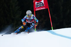 Davare in Audi Fis Alpine Skiing World-de Reuzeslalom van Kopmen's royalty-vrije stock foto's