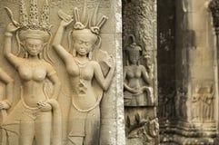 Davata, Angkor Wat, Cambogia immagini stock