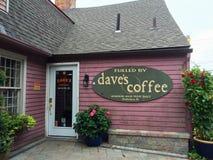 Dave' кофе s стоковые фотографии rf