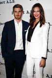Dave Annable, Odette Annable Stock Images