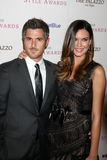 Dave Annable, Odette Yustman Stock Photo