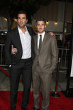 Dave Annable, Zachary Quinto Royalty Free Stock Photo