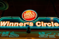 Dave & Buster's Winner's Circle. Win tickets in the arcade and redeem them at the Winner's Circle for anything from cool toys to high-tech gadgets. Everyone's a Royalty Free Stock Image